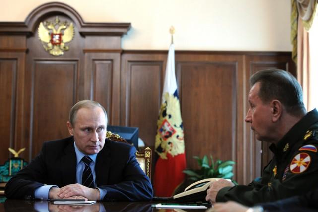 La Garde nationalesera dirigée par le chef des... (PHOTO AP)