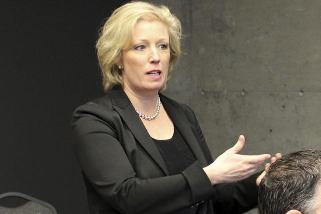 Marie Elaine Farley est présidente et chef de... (Photo fournie)