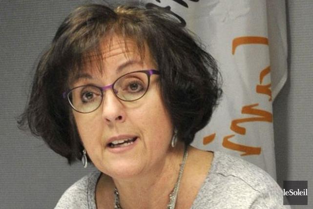 Ann Gingras, présidente du Conseil central de Québec-Chaudières-Appalaches... (Photothèque Le Soleil)