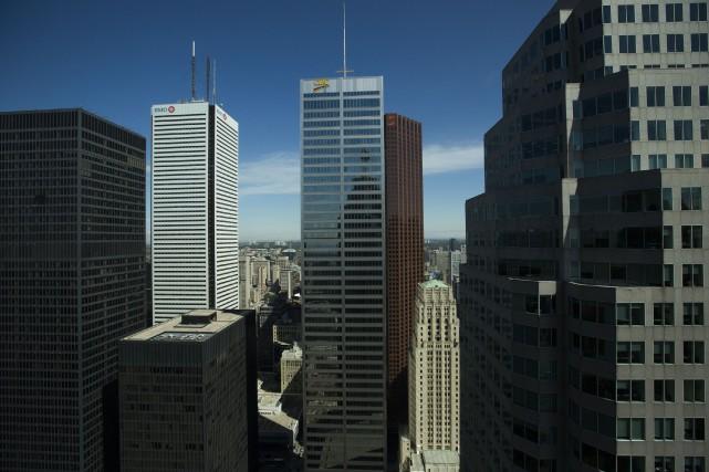 La banque canadienne, dont l'identité est inconnue, est... (PHOTO BRENT LEWIN, ARCHIVES BLOOMBERG)