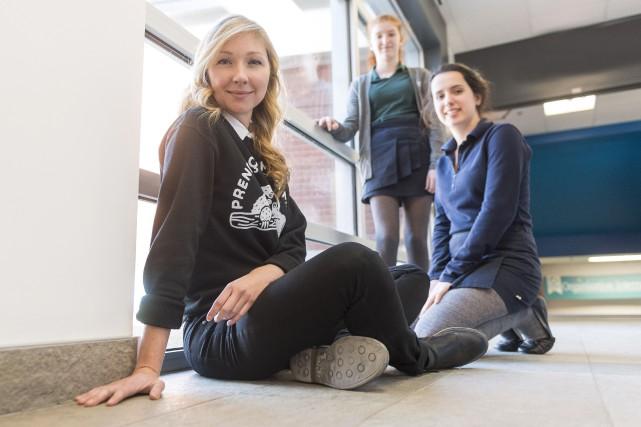 Kate Plamondon, enseignante en sciences au Collège du... (Spectre Média, Frédéric Côté)