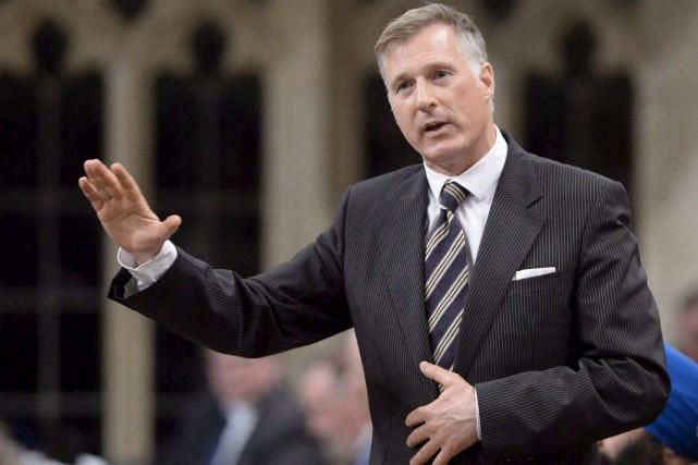 Maxime Bernier déposera cette semaine les documents officialisant... (La Presse Canadienne)