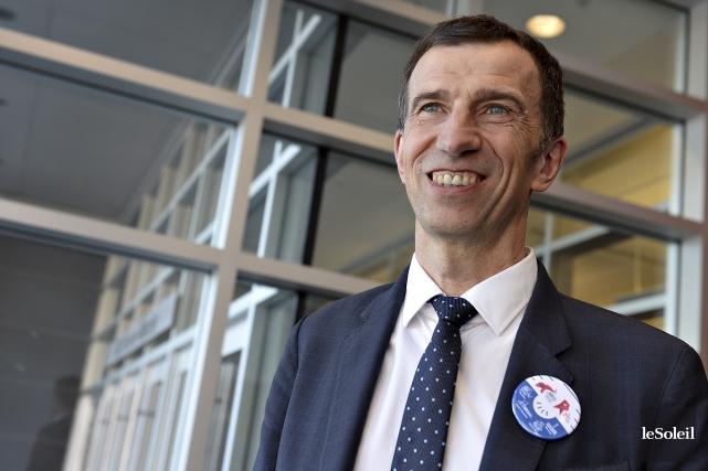 Vincent Marcatté, président de bcom, soutient quecet institut... (Le Soleil, Patrice Laroche)