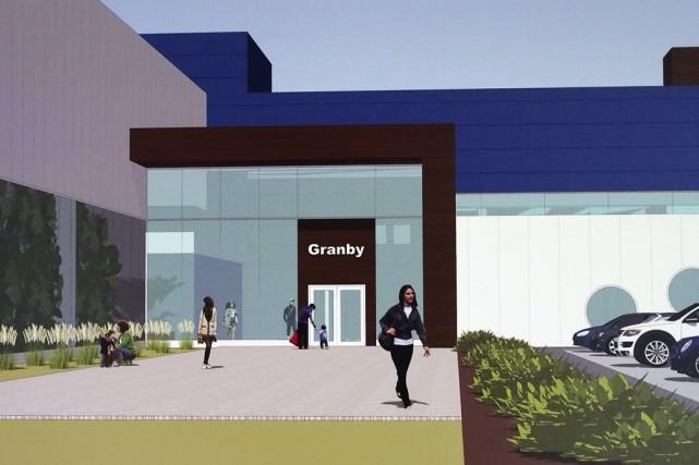 Le futur Centre aquatique de Granby.... (Fournie par la Ville de Granby)