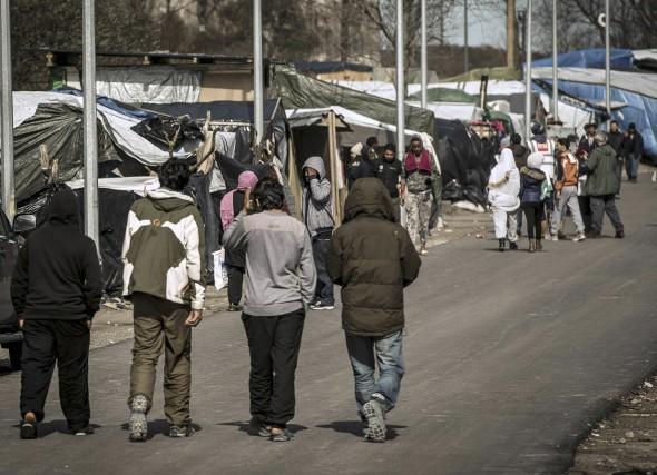 D'après le recensement des 14 bénévoles de l'Auberge... (AFP, Philippe Huguen)