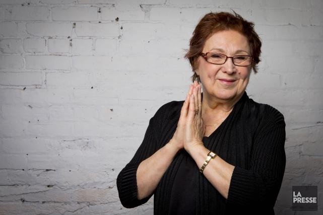 C'est l'image que je garderai de Rita Lafontaine:... (Alain Roberge, Archives La Presse)