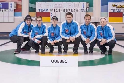 Jesse Mullen, Samuel Plourde, Jonathan Richard, Maxime Fortin,... (Photo courtoisie)