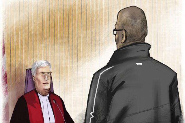 Le dernier témoin de la Couronne, Alain Béliveau,... (Illustration de Serge Paquette)