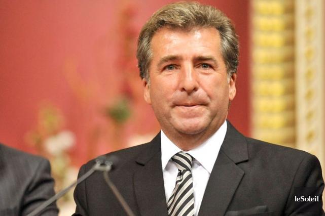Le député André Drolet... (Photothèque Le Soleil, Steve Deschênes)