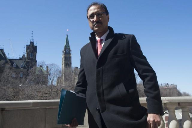 Le ministre Sohi a rappelé que le budget... (Adrian Wyld, PC)