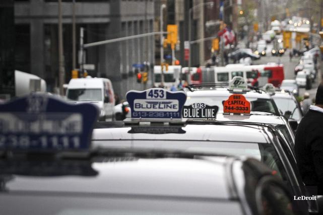 L'industrie du taxi fera connaître ses doléances devant... (Etienne Ranger, Archives LeDroit)