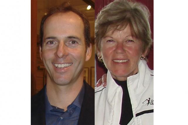 Michel Martin et Jocelyne Bourassa...
