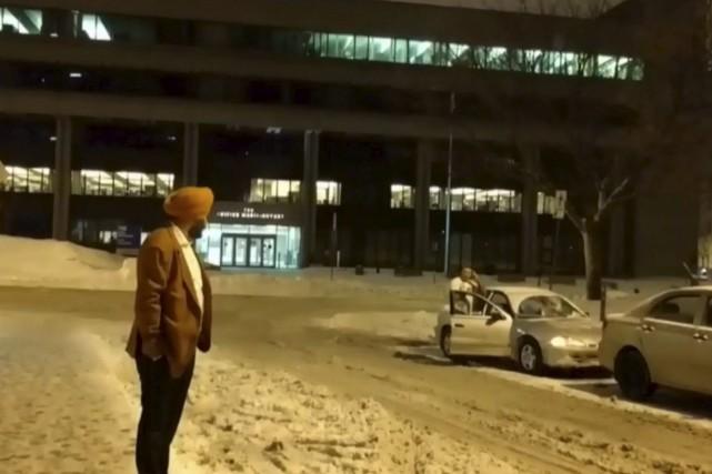 Les images de l'agression ont circulé dans tout... (Tirée d'une vidéo de CTV NEWS)