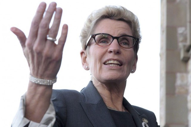 Kathleen Wynne... (Sean Kilpatrick, Archives PC)