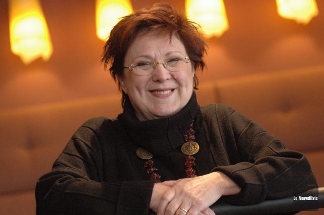 Rita Lafontaine... (Le Nouvelliste)