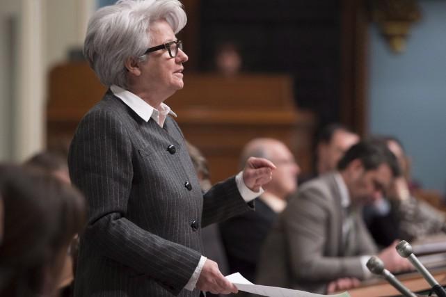 Comme le caquiste Éric Caire, la péquiste Agnès... (La Presse Canadienne, Jacques Boissinot)