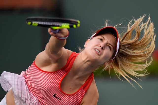 Eugenie Bouchard... (Mark J. Terrill, Archives AP)