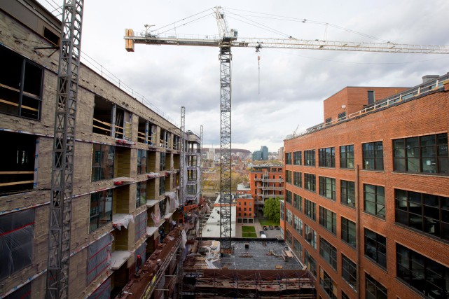 La partie bureaux du complexe Le Nordelec est... (Photo Alain Roberge, Archives La Presse)