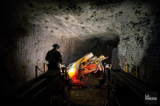 La minière Alamos Gold a annoncé lundi l'acquisition de la compagnie québécoise... (PHOTO IVANOH DEMERS, ARCHIVES LA PRESSE)