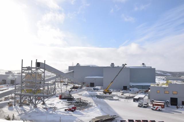 Les opérations du projet diamantifère Renard débuteront cinq... (Photo fournie par Stornoway)