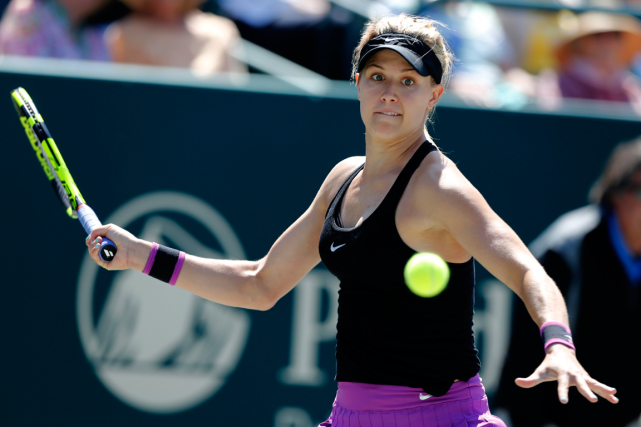 Eugenie Bouchard a défait la Roumaine Alexandra Dulgheru... (Photo Mic Smith, AP)