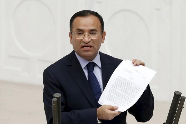 Le ministre de la Justice Bekir Bozdag.... (PHOTO UMIT BEKTAS, ARCHIVES REUTERS)