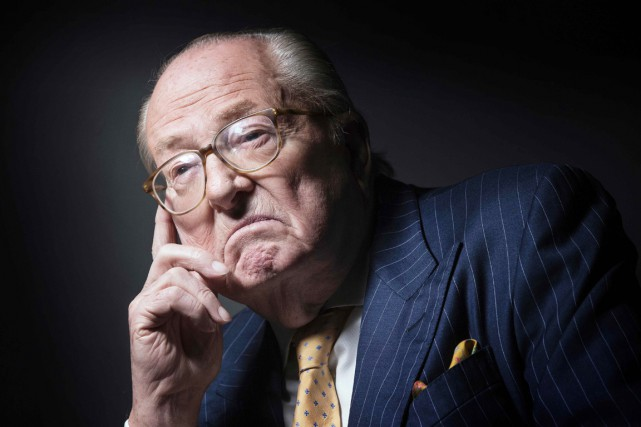 Jean-Marie Le Pen, 87 ans, a été condamné mercredi... (PHOTO JOEL SAGET, ARCHIVES AFP)