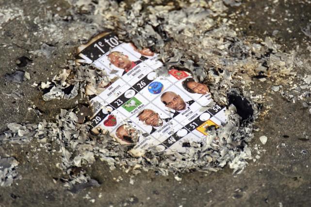Haïti est plongée dans une crise politique profonde... (PHOTO RICARDO ARDUENGO, ARCHIVES AP)