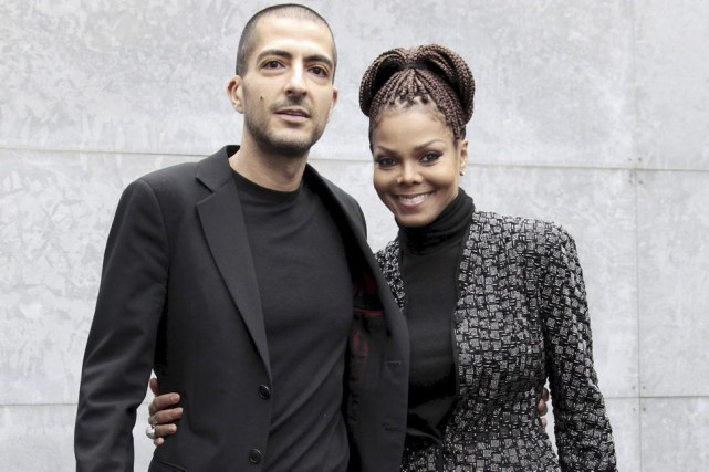 Janet Jackson et son conjoint Wissam Al Mana.... (PHOTO ARCHIVES REUTERS)
