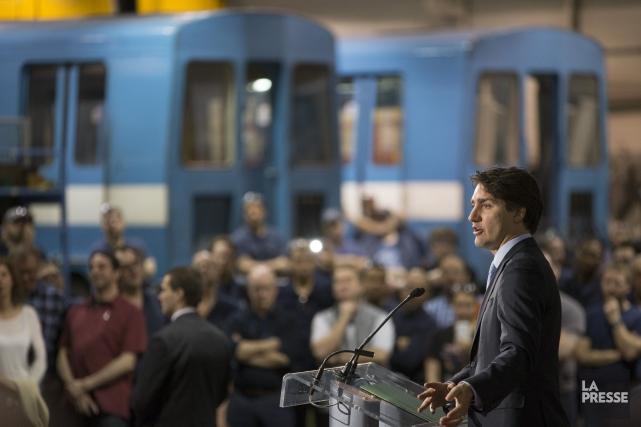 Justin Trudeau... (Photo Ivanoh Demers, La Presse)