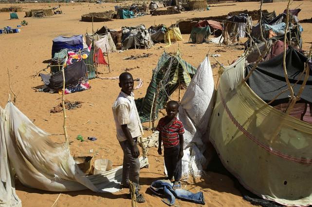 «Les organisations humanitaires estiment qu'au 31mars, au moins... (PHOTO ASHRAF SHAZLY, AFP)
