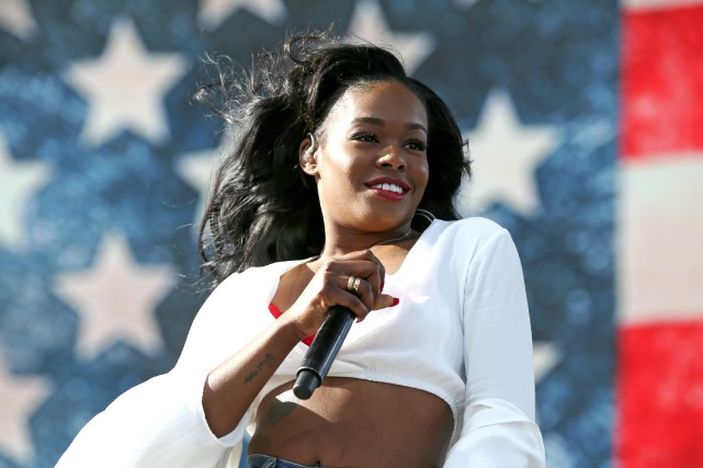 Azealia Banks a célébré la victoire de Donald... (Photo archives Associated Press)