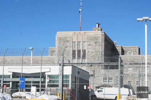 La prison de Gatineau.... (Étienne Ranger, Archives LeDroit)