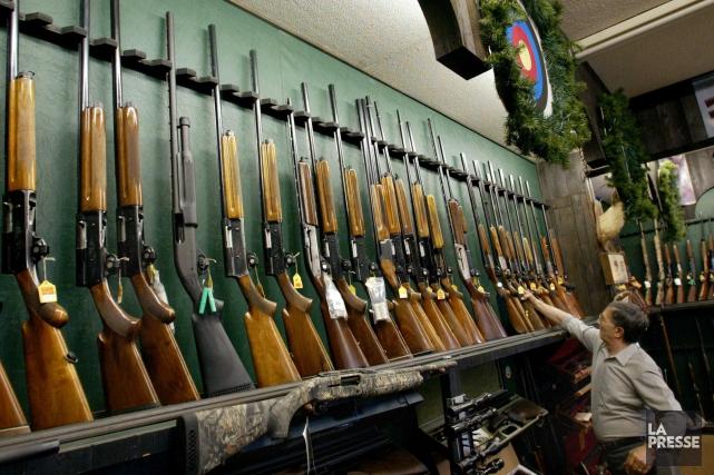 Le projet de registre québécois des armes à feu a reçu un appui de taille,... (Archives La Presse Canadienne)