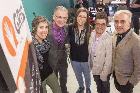Myriam Pelletier Gilbert, présidente du GRIS, Dr Réjean...