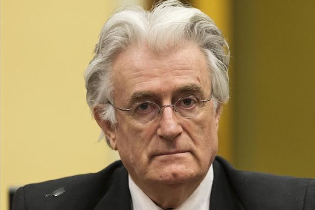 Radovan Karadzic avait notamment été reconnu coupable de... (ARCHIVES AFP)