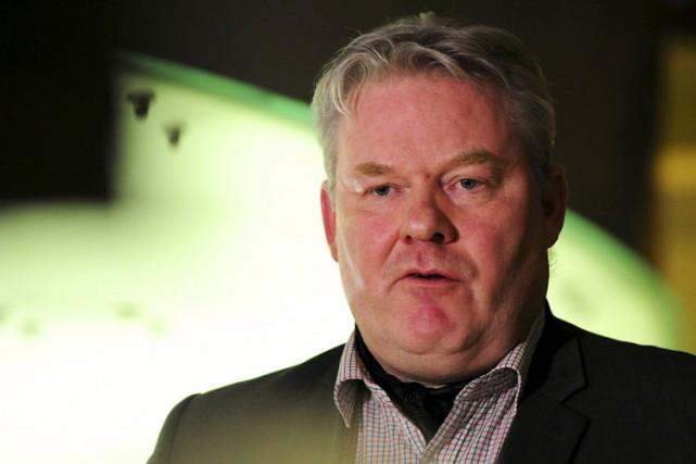 Le ministre de l'Agriculture Sigurdur Ingi Johannsson (photo)... (PHOTO REUTERS)