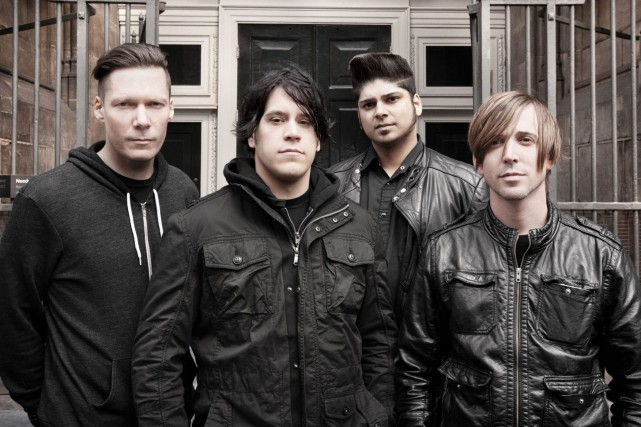 Le groupe Billy Talent se produira sur la... (Photo courtoisie)