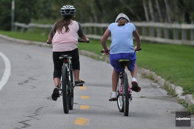 La Route verte recevra une aide de la part du gouvernement du Québec. Un... (Archives Le Quotidien, Rocket Lavoie)