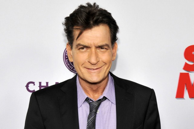 Charlie Sheen... (PHOTO ARCHIVES AP)