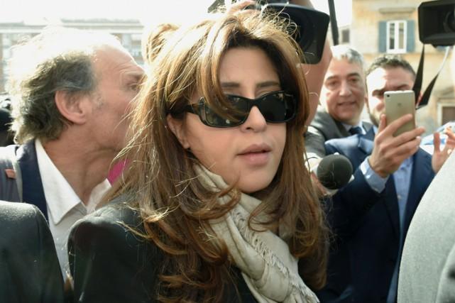 FrancescaChaouqui a laissé entendre que Lucio Vallejo Baldalui... (PHOTO AFP)