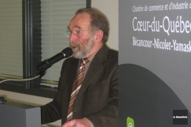 Le président de la Fédération de l'UPA Centre-du-Québec,... (Marc Rochette, Le Nouvelliste)