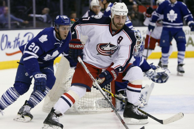 Matt Calvert a récolté un but et deux passes alors que les Blue Jackets de... (PHOTO REUTERS)