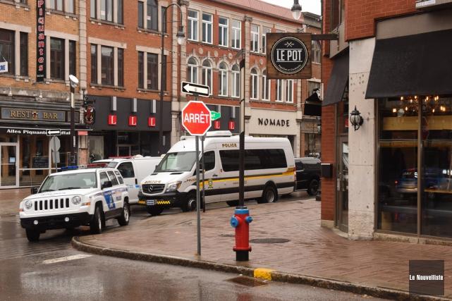 Près des deux tiers des suspects arrêtés le... (François Gervais, Le Nouvelliste)