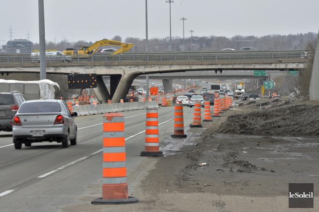 La fermeture de l'autoroute Laurentienne permettra de démolir... (Photothèque Le Soleil, Pascal Ratthé)