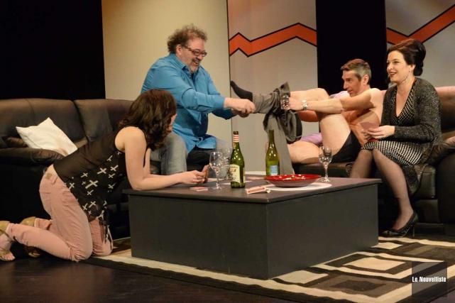 Le Théâtre des Nouveaux Compagnons présente, à compter... (Sylvain Mayer, Le Nouvelliste)