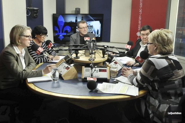Les candidats à l'élection partielle dans Chicoutimi ont... (Photo Le Quotidien, Rocket Lavoie)