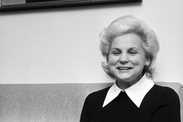 Jeanne Sauvé, journaliste et femme politique, est devenue... (PHOTO PAUL-HENRI TALBOT, archives LA PRESSE)
