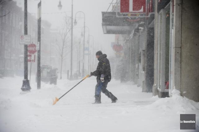 La Sûreté du Québec a dénombré des dizaines... (Photo: Sylvain Mayer Le Nouvelliste)