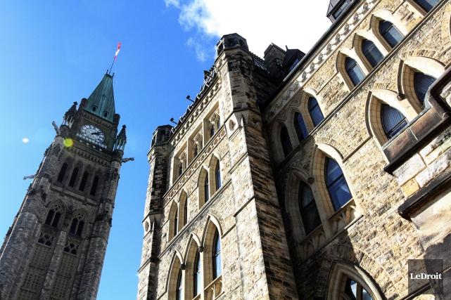 Les déficits budgétaires successifs annoncés par Ottawa il y a deux semaines... (Photo Etienne Ranger, Archives LeDroit)
